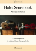 Halva Scorebook [Sheet Music]